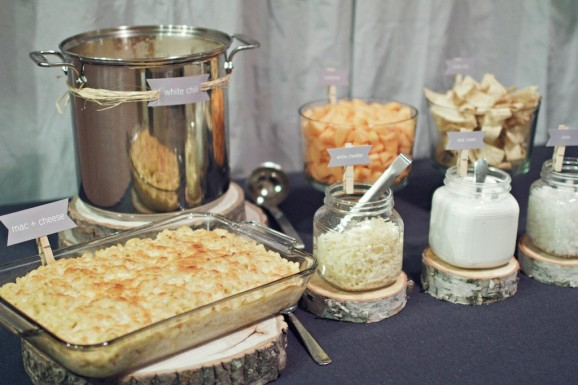 For Halloween Dinner Eat Ghostly White Chili and Homemade Mac & Cheese
