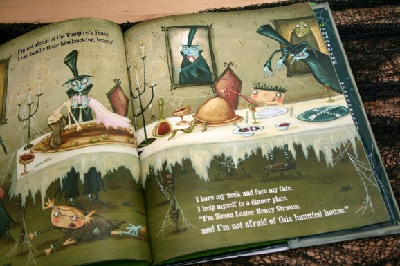 Peek Inside I'm Not Afraid of This Haunted House Children's Book