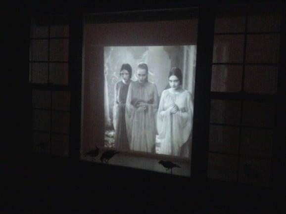 Halloween Projector Screen Party Decor