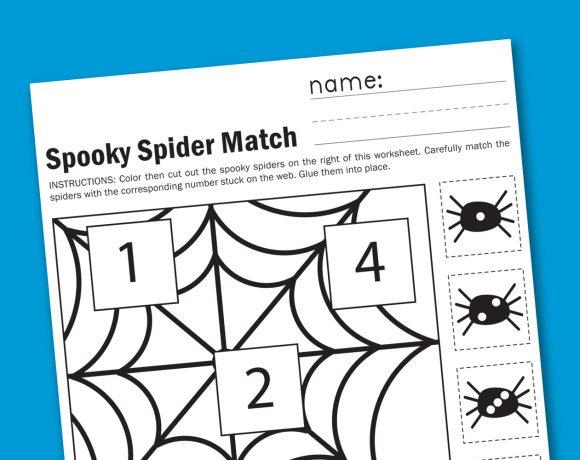 Halloween Counting Free Worksheet