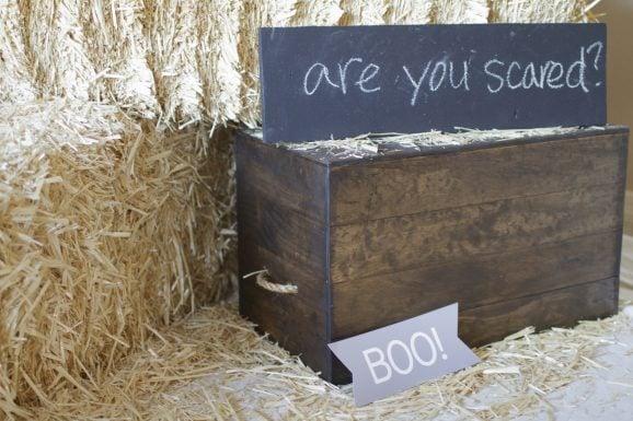 Halloween Photobooth Crate