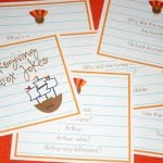 Free Printable Thanksgiving Lunchbox Jokes