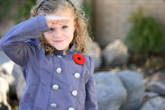 Salute Veterans with a Remembrance Day Poppy Pin