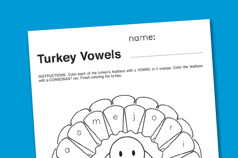 Thanksgivingturkeyvowelsworksheet