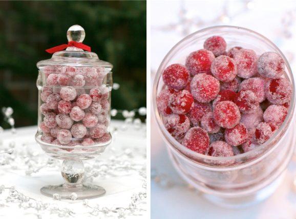 Festve Sugared Cranberries