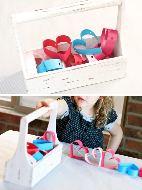 Folded Heart Garland
