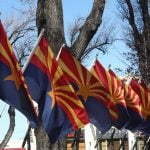 Arizona Flags by Fr. Dougal McGuire
