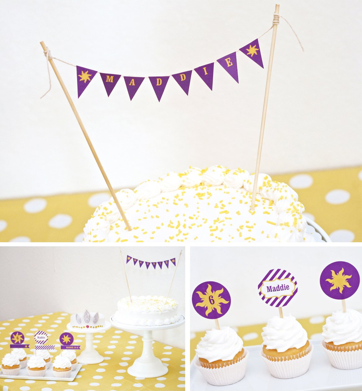 How to Host a Rapunzel Party - Paging Supermom