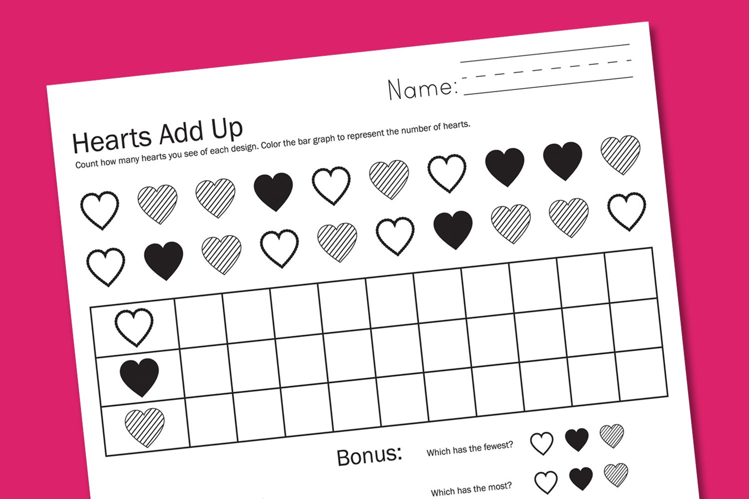 Valentine Worksheets - Paging Supermom
