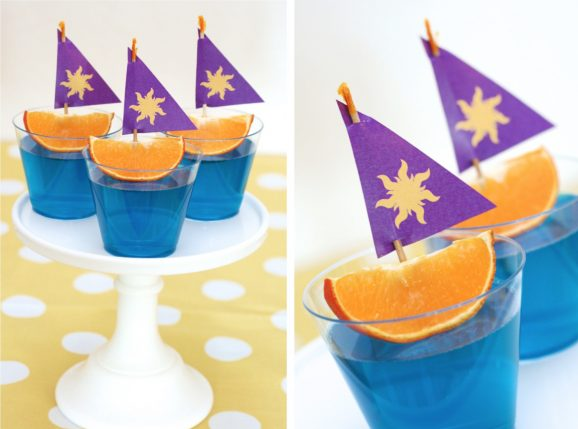 Download Rapunzel Sun Sails for Jello Boats Party Food