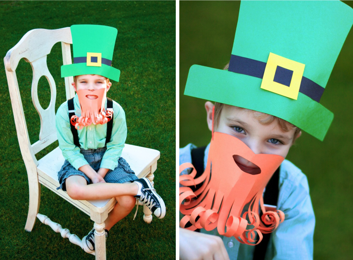 construction paper and string, you'll have a real, live leprechaun ...