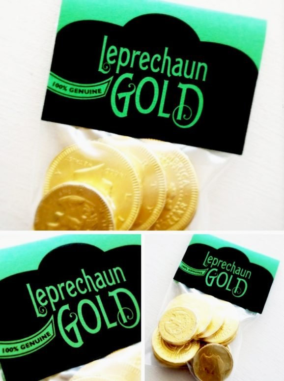 Freebie Leprechaun Gold Printable Gift Tag