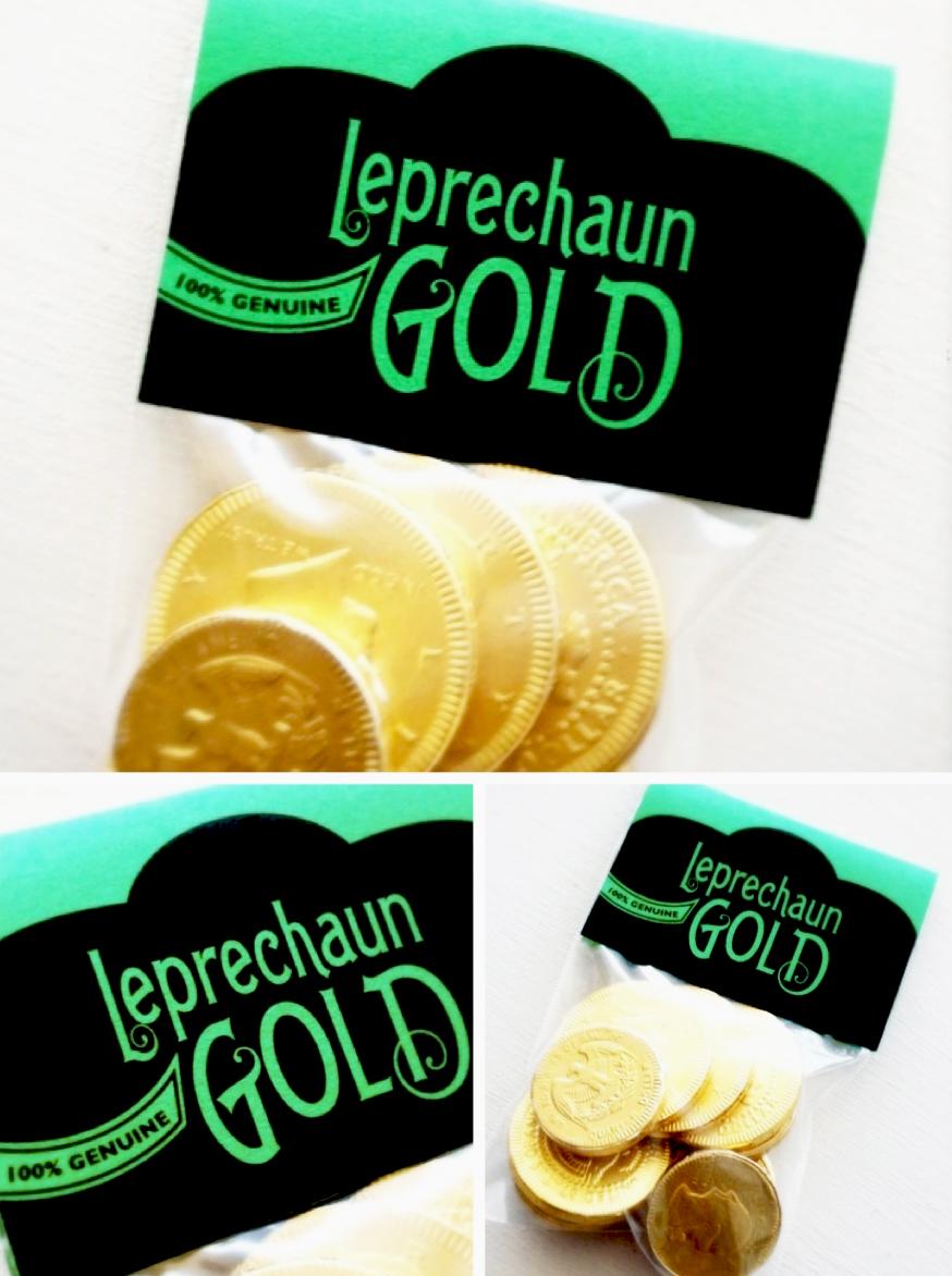 Freebie Leprechaun Gold Printable Gift Tag