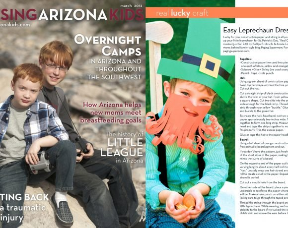 Raising Arizona Kids Magazine March 2012