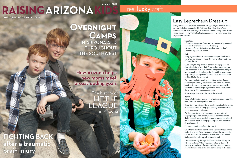 Raising Arizona Kids Magazine March 2012