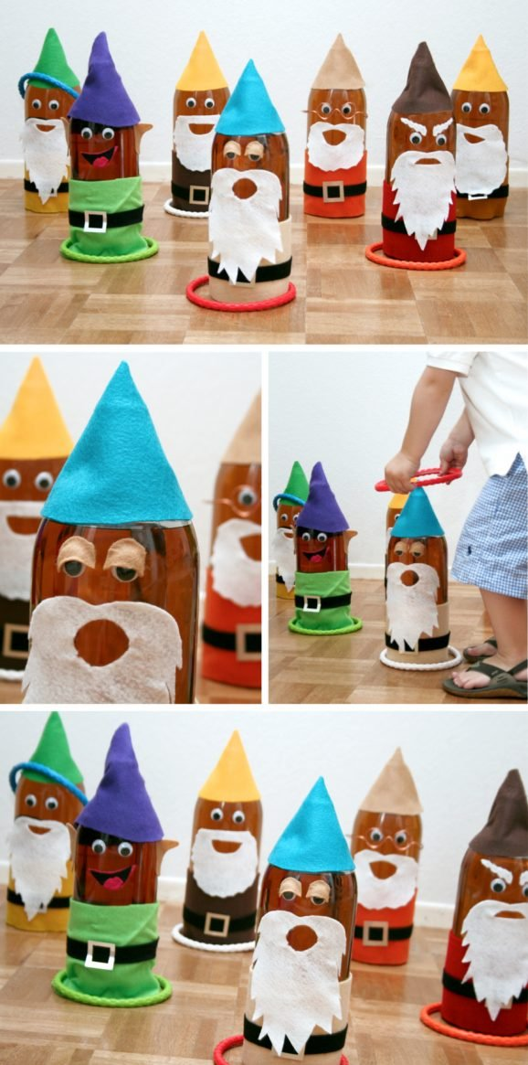 Seven Dwarf Ring Toss Party Game #SnowWhite #PartyGames