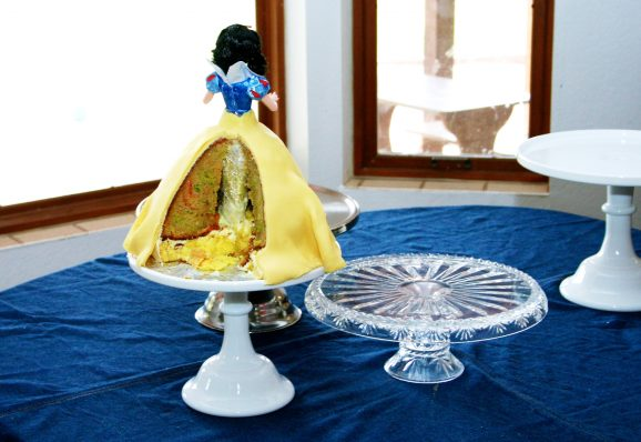 How to Make a Snow White Princess Cake #SnowWhite #BirthdayCake