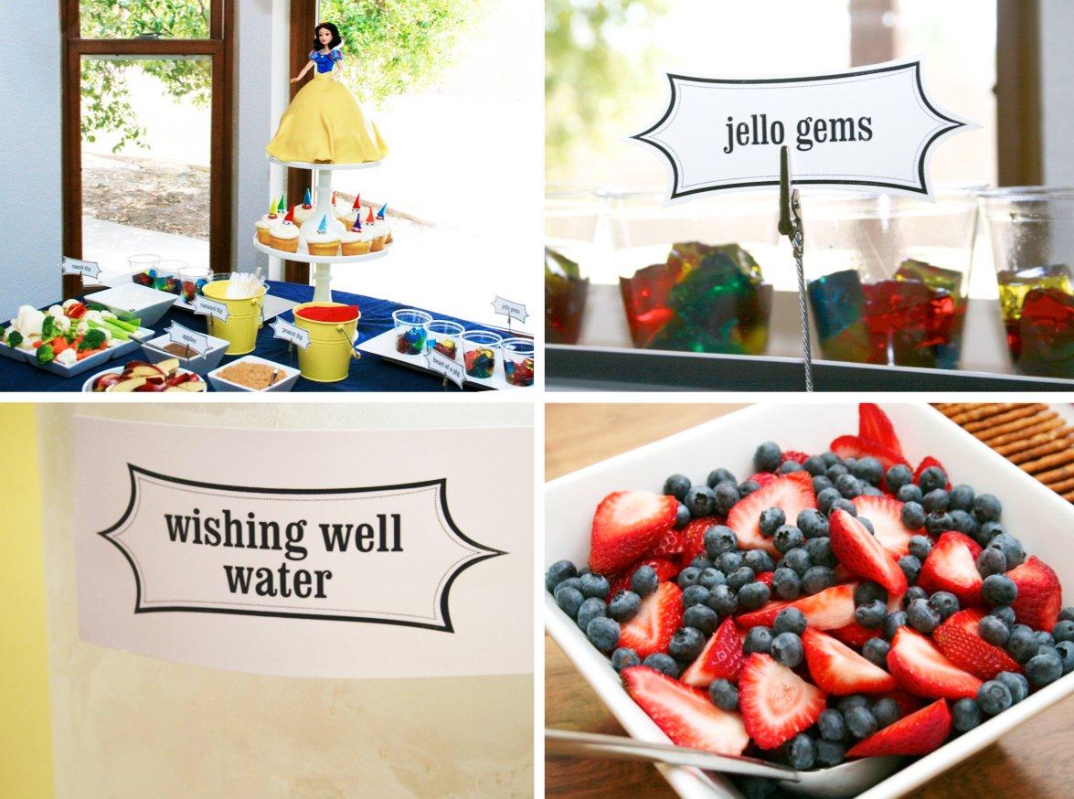 Snow White Birthday Party Ideas - Paging Supermom