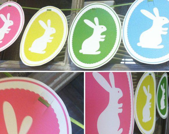 Bunny Banner Printable