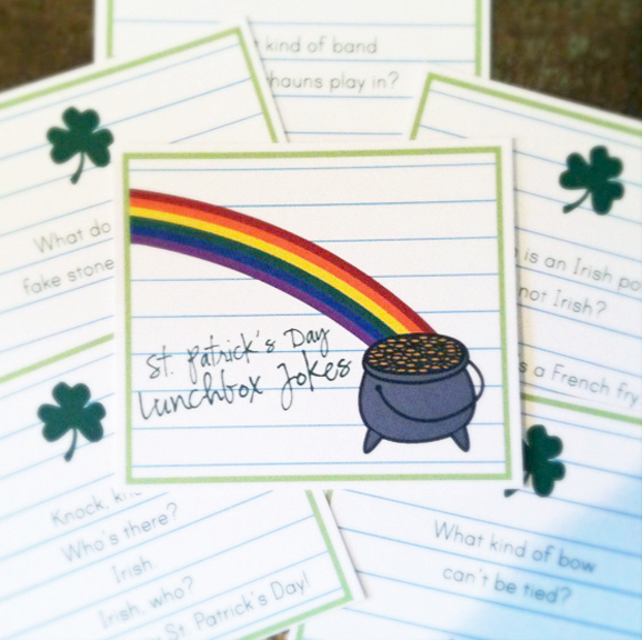 Leprechaun Lunchbox Jokes