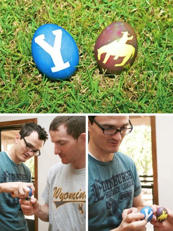 Egg Fight: BYU vs Wyo