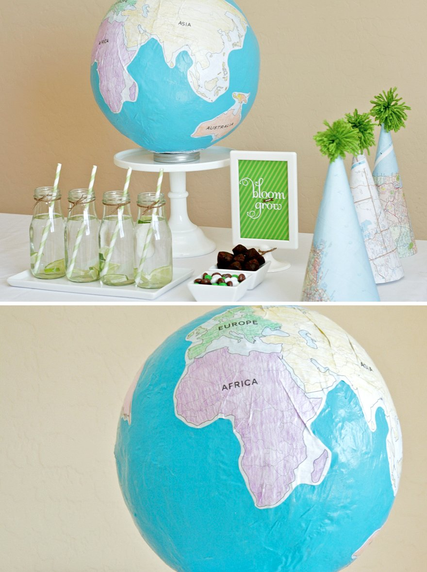 How to make a globe paging supermom how to make a globe gumiabroncs Images