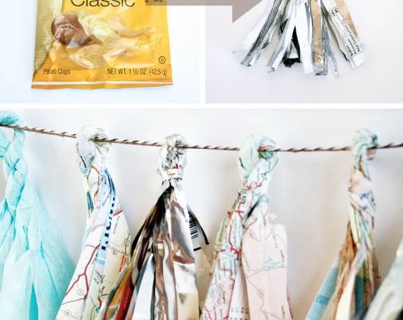 Recycled Party Tassels
