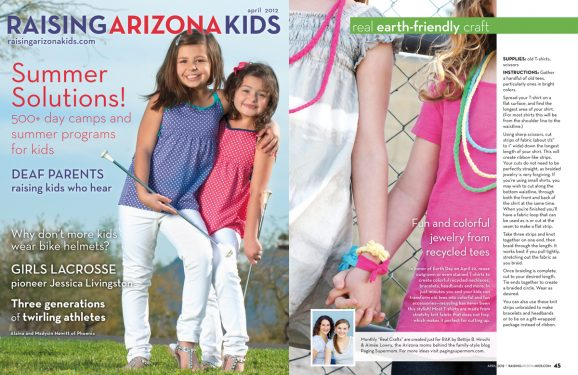 Raising Arizona Kids Magazine April 2012