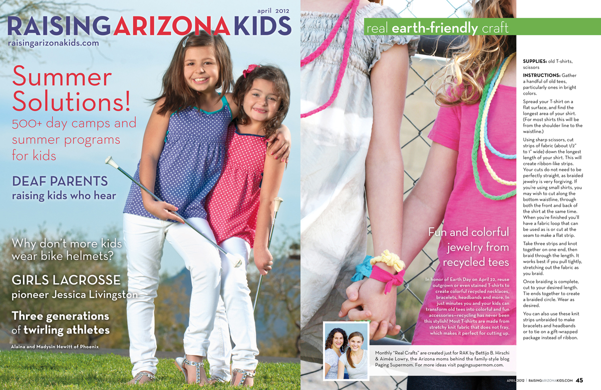 Raising Arizona Kids Magazine April 2012