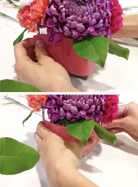Finish your Flower Arrangment like a Pro