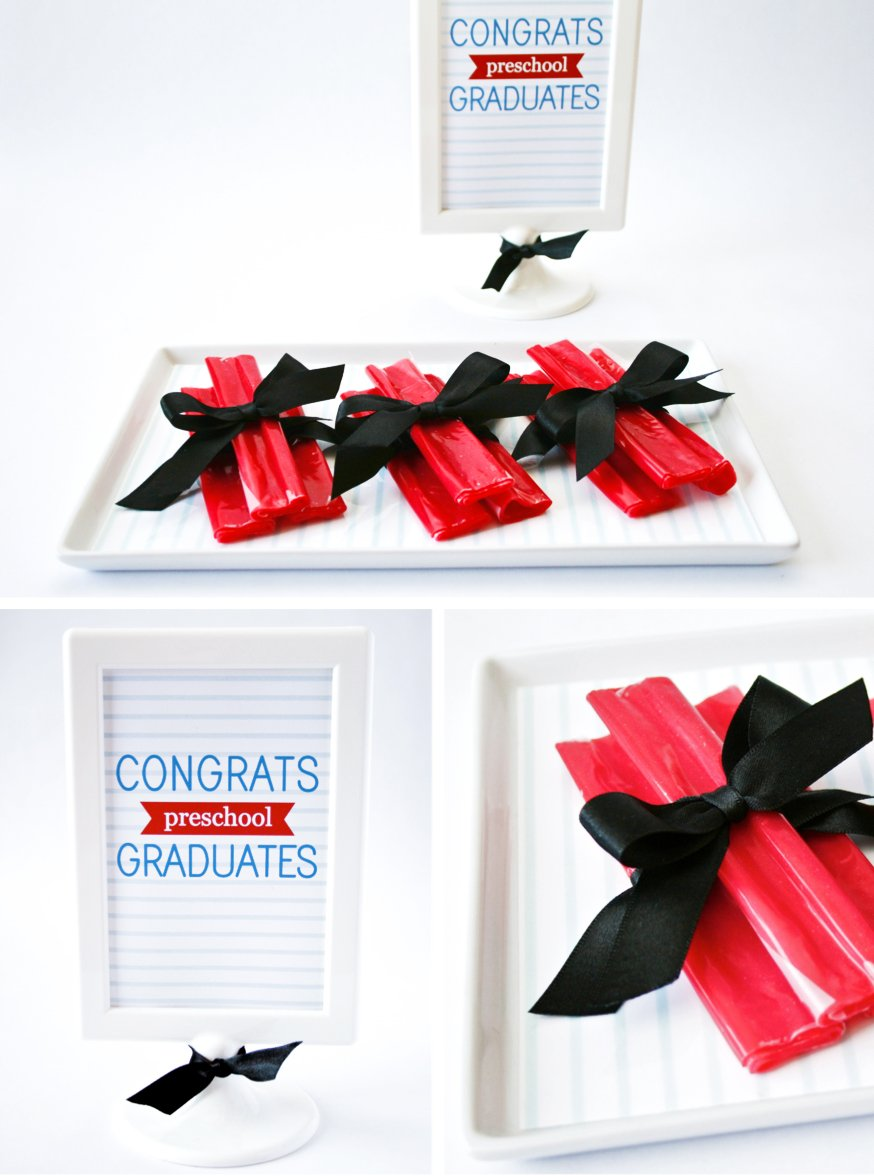 Preschool Graduation Party Treat Ideas