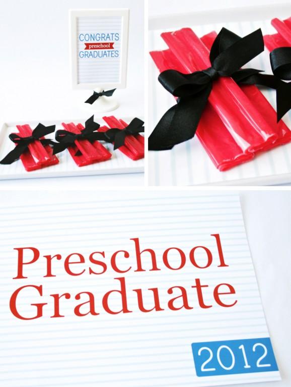 PreschoolGraduatePhotoSignCollage