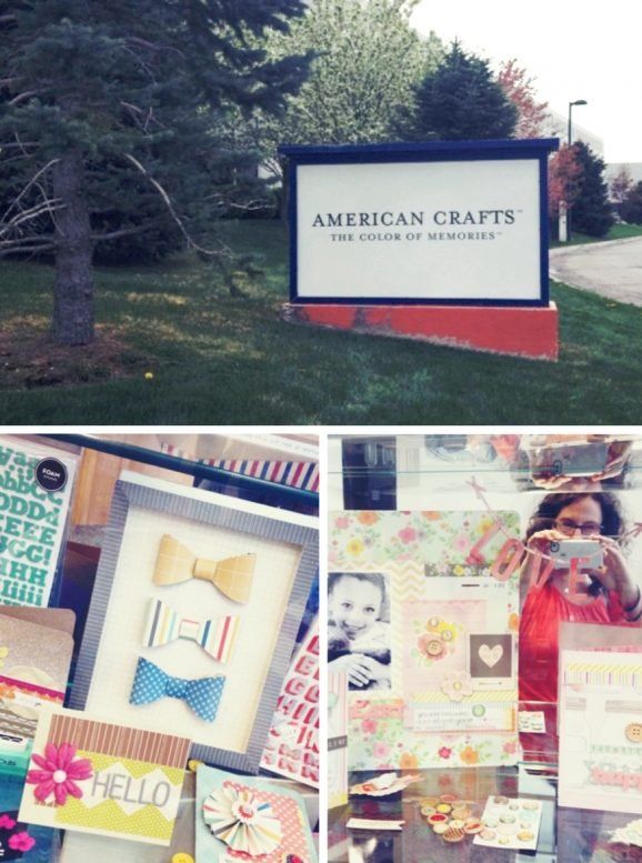 American Crafts Sign and Lobby