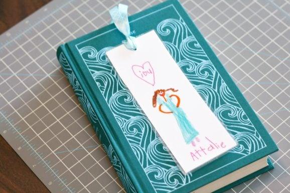 HandmadeTeacherBookmarkGift