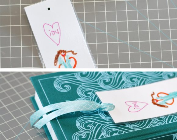 Color a Pretty Bookmark for your Teacher