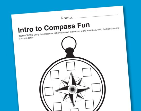 Worksheet Wednesday: Intro to Compasses