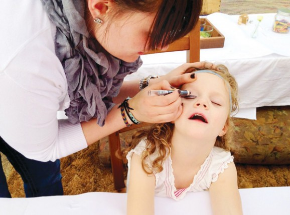 Egyptian Party Face Painter