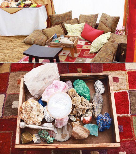 egyptian-party-precious-stone-table