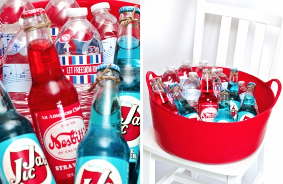 Beverages for a July 4th Party
