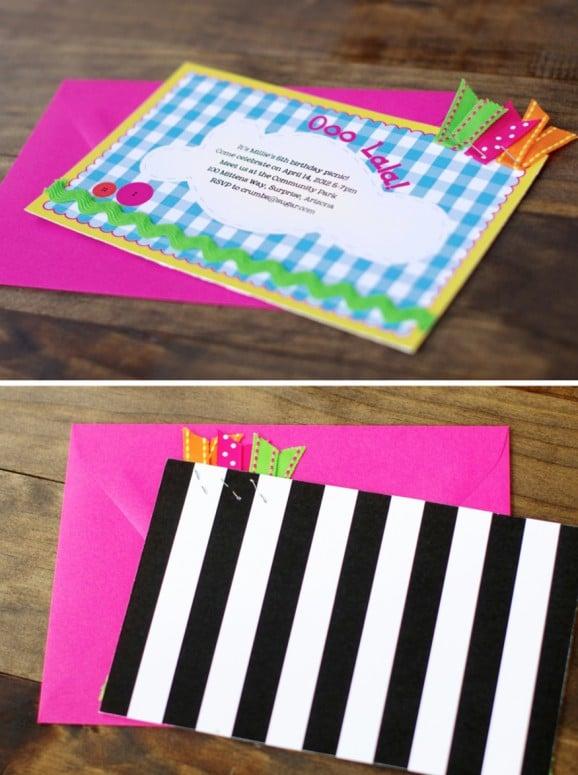 DIY Lalaloopsy Birthday Party Printable Invitations Personalized #lalaloopsy #partyinvites