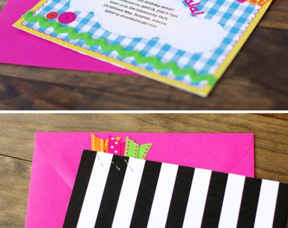 Lalaloopsy-Inspired Party Invite