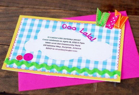 Lalaloopsy Birthday Party Invitation Printable #lalaloopsy #partyinvites