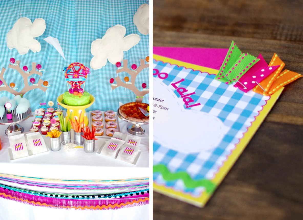 Lalaloopsy-Inspired Party Invite - Paging Supermom
