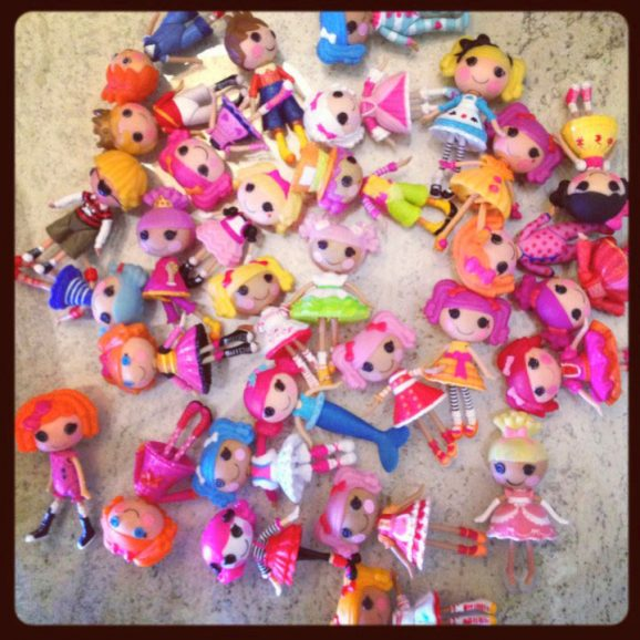 My Girls have quite the Lalaloopsy Mini Doll Collection! #lalaloopsy