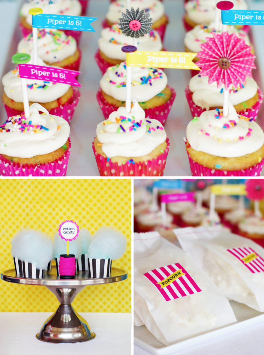 Lalaloopsy Cupcakes Birthday Party #lalaloopsy
