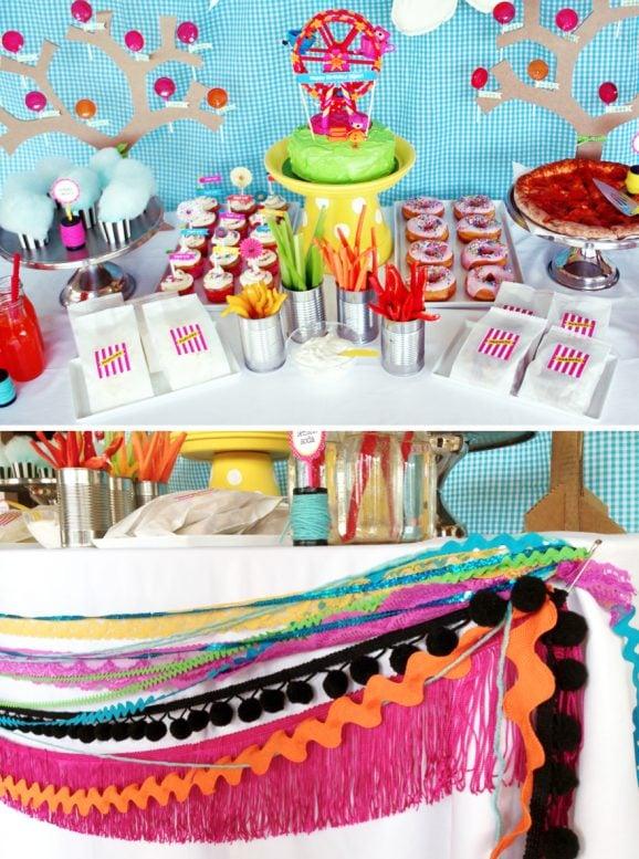 Lalaloopsy Birthday Party Food Ideas