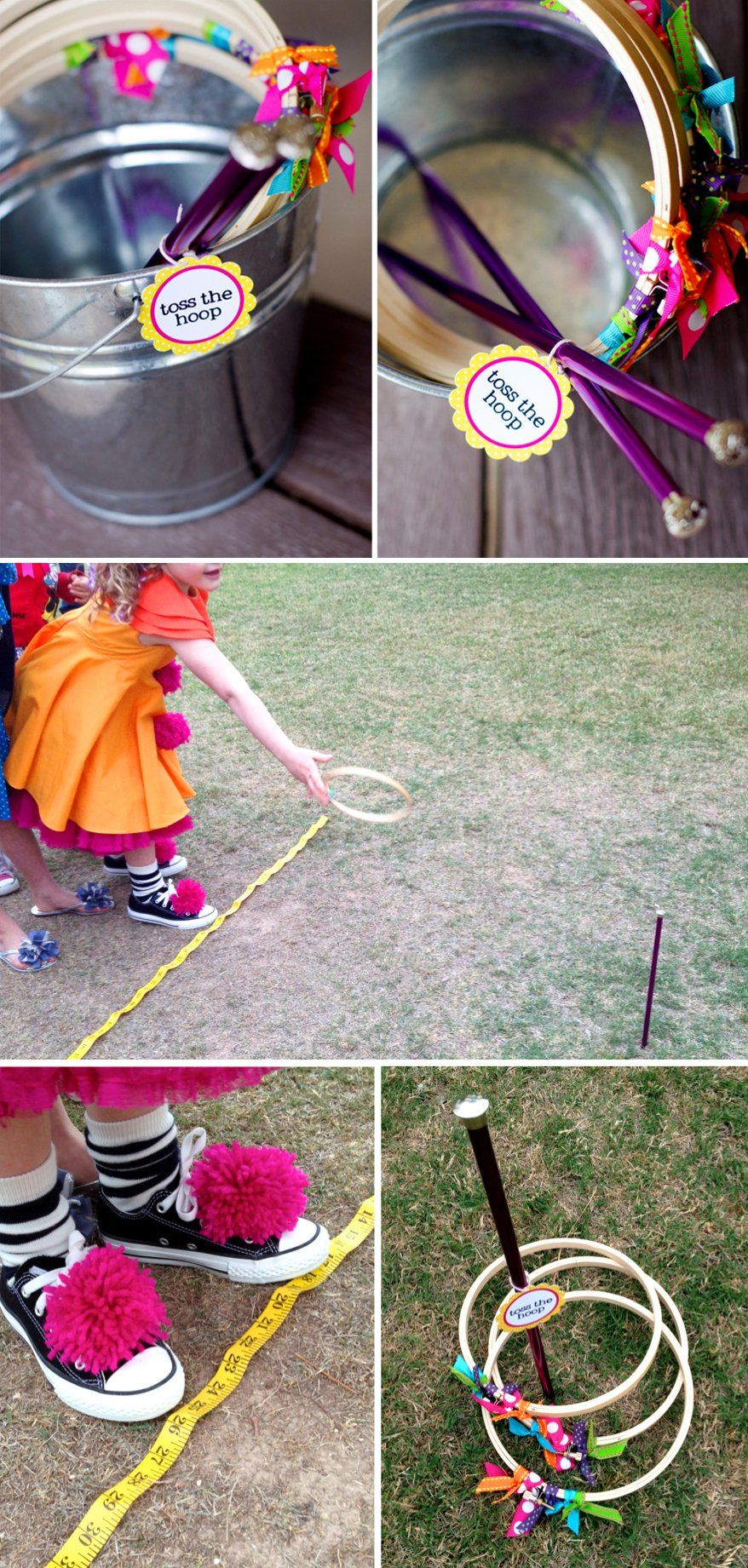 Lalaloopsy Toss the Hoop Party Games #lalaloopsy