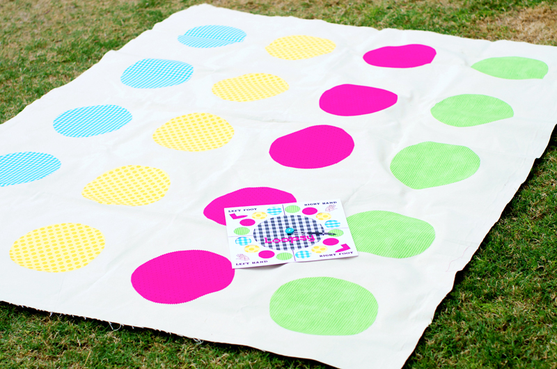 How To Make A Twister Game DIY Lalaloopsy Games