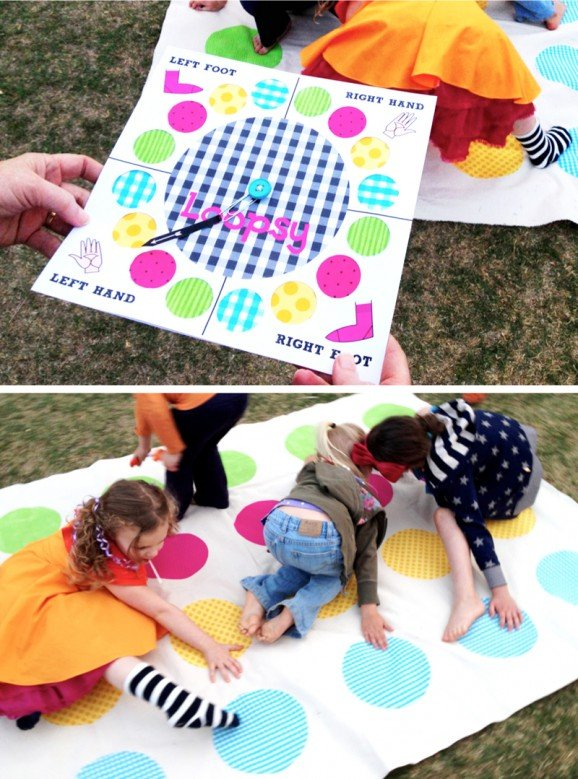 Twister Loopsy Lalaloopsy Birthday Party Game Ideas #lalaloopsy #games