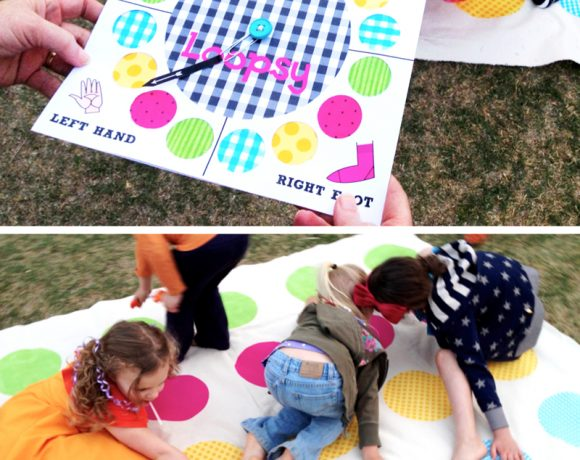 "Twister-Inspired ""Loopsy"" Party Game"